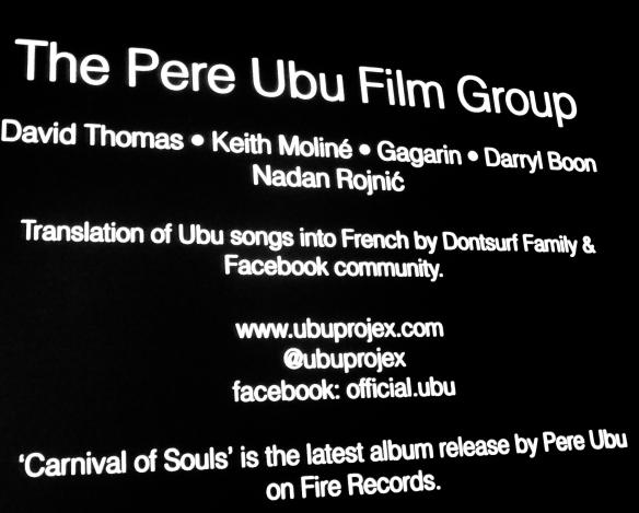 Pere Ubu @ Le Forum des Images, PAris 034